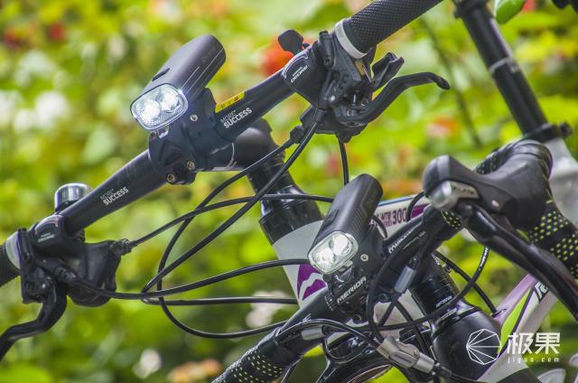 双灯伴两轮,陪我夜骑行:迈极炫RN3000车灯