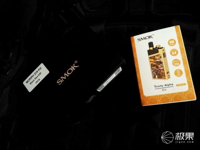 酷爽新体验来自SMOK三合一阿尔法KIT和MORPH219