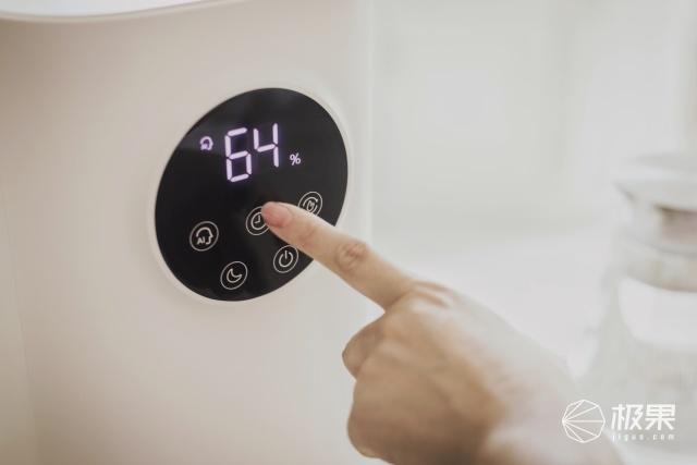 京品评测 家里空气干燥?这台聪明的加湿器,让你一年四季都能感受如春般的滋润!