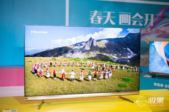 春天画会开!海信发布四款重磅新品,原来电视还能这么看?
