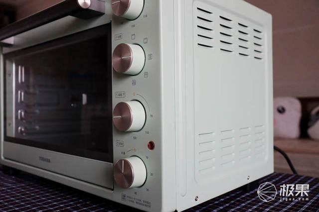 小资党必看!吃货党必看!东芝网红复古烤箱VD6350开箱