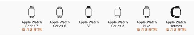 AppleWatchSeries7终于来了!10月8日开始预购起售价2999元