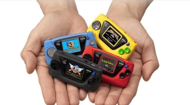 世嘉發布微型游戲機GameGearMicro,慶祝其成立60周年