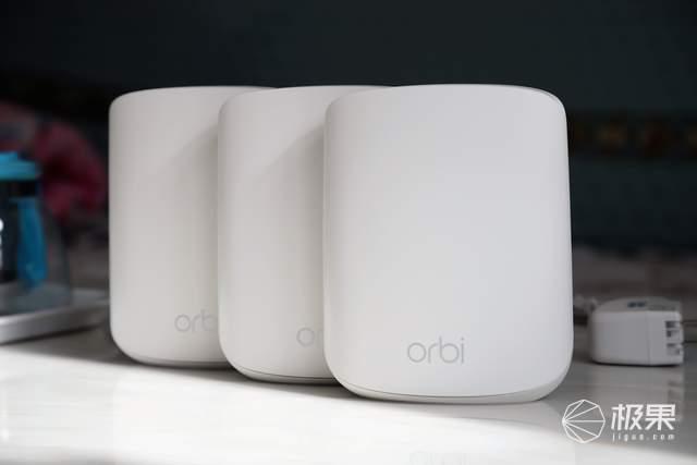 跑满带宽,3只装稳定大覆盖,网件OrbiRBK35评测