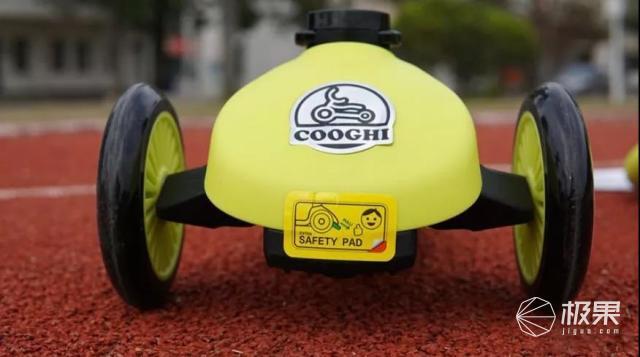 用户测评|COOGHI酷骑V3滑板车,三轮平衡体验版