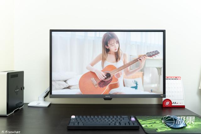 桌面整洁好帮手,爱格升MXV显示器支架体验