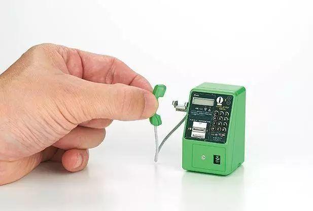 「新東西」時光扭蛋:日本TakaraTomy公司推出公用電話系列模型