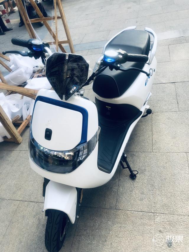 森蓝O2电动摩托车