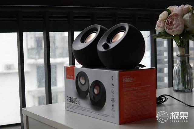 电视机声效差怎么办?莫慌,创新PEBBLEV3音响给你答案