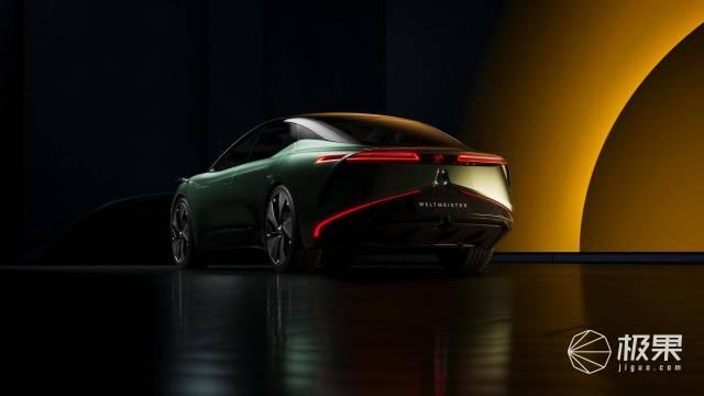 威马800公里续航概念轿车亮相,还有纯电SUV售14.98万元起送三年免费充电