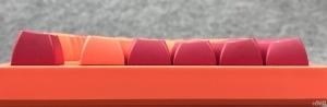 全新OSA高度PBT二色球帽:Akko3108V2热熔岩键
