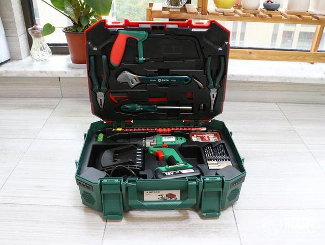 满足我们所有的工匠精神需求|世达88件家用工具箱实测