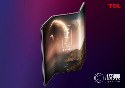 TCL展示两款概念智能手机,预计将于2021年正式发布
