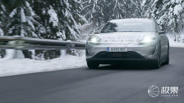 终于上路了!索尼公布VISION-S电动车路试视频,表现令人惊喜!