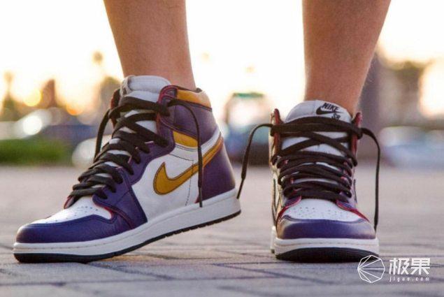 新联名!NikeSBxAirJordan1湖人配色款:经典搭配潮流