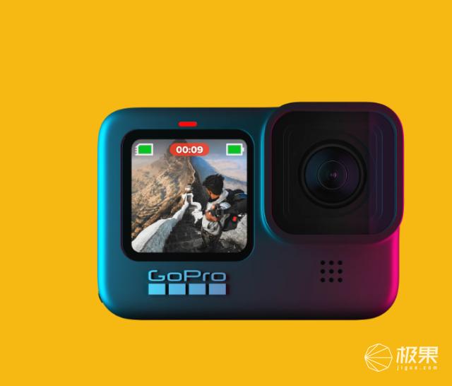 GoProHero9运动相机发布!支持5K视频录制,售价3498元