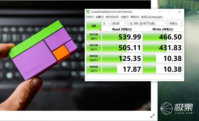 数据尽在指尖,精彩不必等待:ORICO光影维度PSSD