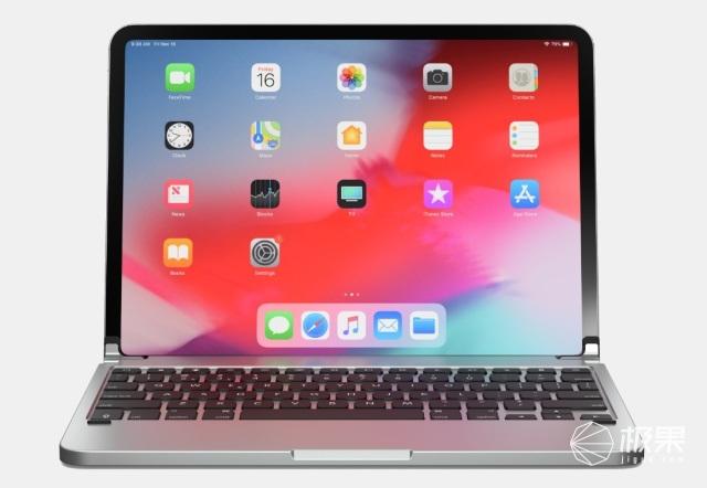 「新東西」一秒變身MacBook,Brydge發布鋁制iPad鍵盤套