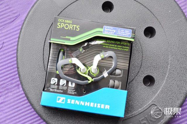 森海塞尔(Sennheiser)入耳耳挂式运动耳机