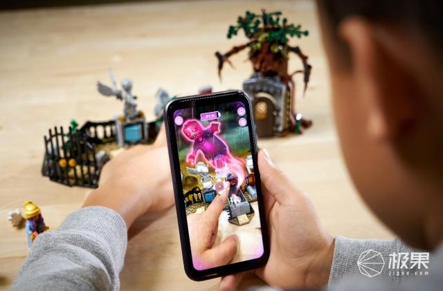 「新东西」附带AR效果,乐高鬼屋套装《HiddenSide》上架苹果官网
