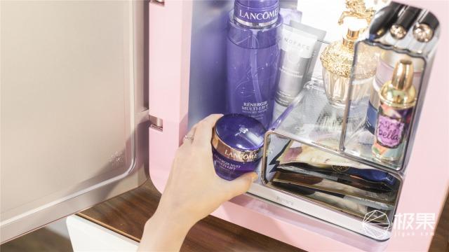 「万博体育max下载」女神的护肤秘籍!一款高颜值冰箱,竟然还能帮你化妆!
