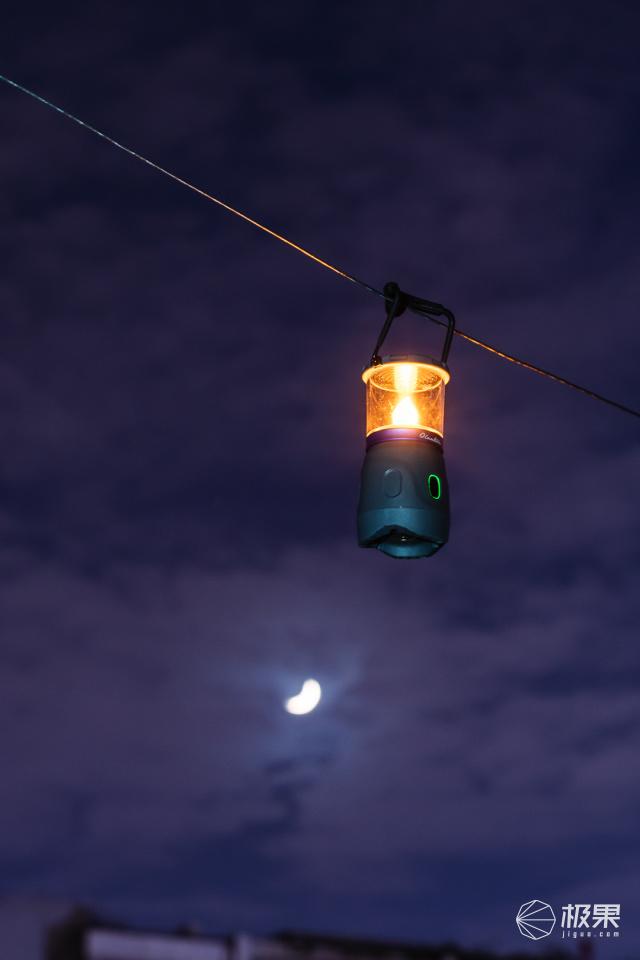 傲雷家族的生力军,可换灯头的Olantern营地灯