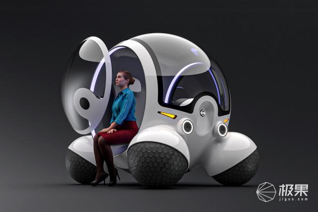 日产球形概念车:颠覆轮胎设计,能够平行移动