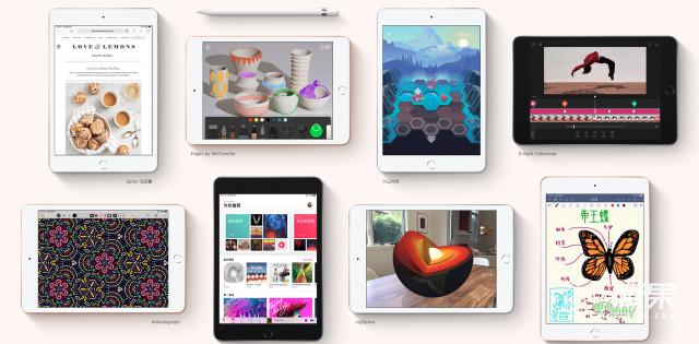 iPadmini5来了!7.9英寸屏+A12仿生芯片,2999起