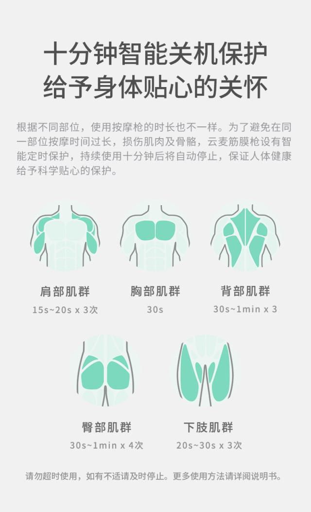 云麦(YUNMAI)肌肉按摩筋膜枪