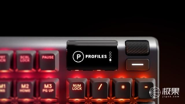 「新东西」干掉Cherry!赛睿推出可调键程的Apex系列键盘