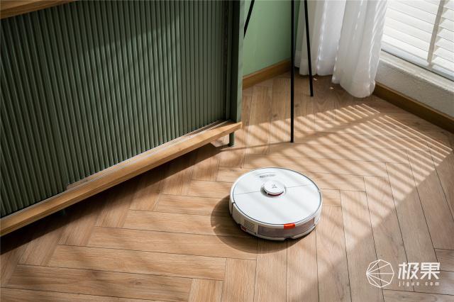 谁说扫拖一体机擦地板不够干净?石头T7S要出来打脸了