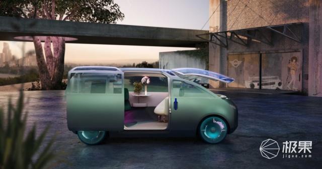 把客厅搬上马路!mini公布自动驾驶概念车,随心变换内饰