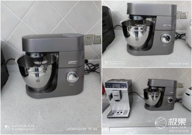松下PM105升级凯伍德厨师机KVL8300S