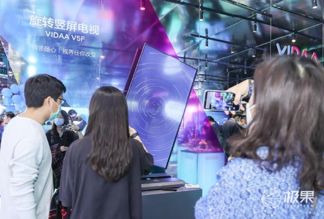 """视觉冲击太强烈!2021首个「黑科技」展,206公斤大电视只配做""""前菜"""""""