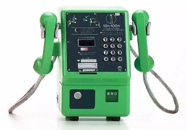 「新东西」时光扭蛋:日本TakaraTomy公司推出公用电话系列模型