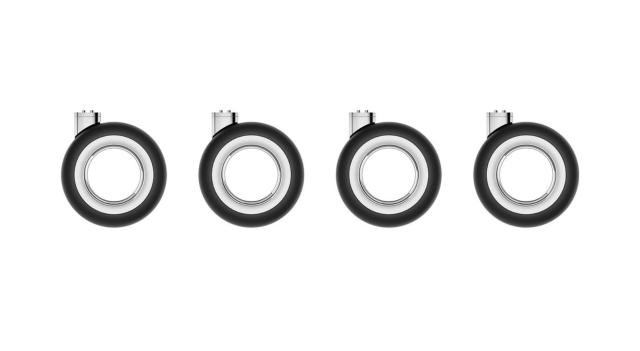 苹果上架MacPro机箱滚轮,售价堪比汽车轮胎