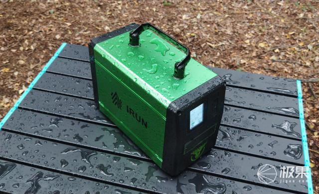 野外用电不用愁-持力X3户外便携式移动电源