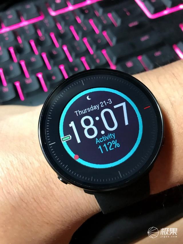 这应该是目前光电心率最为精准的运动手表