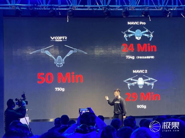 续航50分钟!首款消费级双旋翼无人机发布,这外观你肯定没见过......