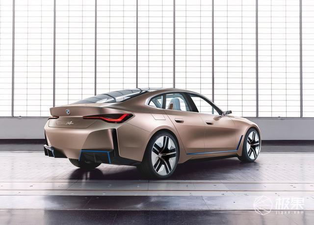 宝马发布首款纯电动轿跑概念车,量产版将于2021年正式上市