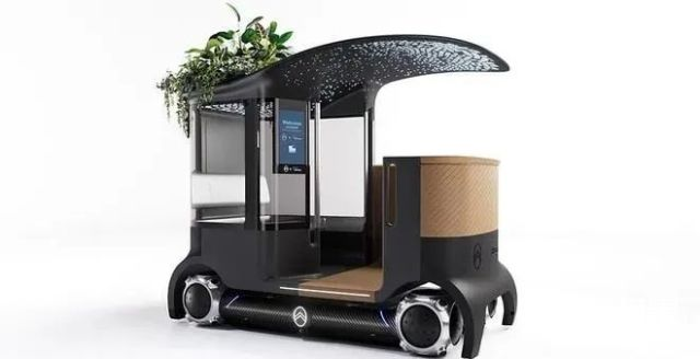 酷炫!雪铁龙打造「超级滑板」,球形车轮+自动驾驶,还能3个人一起坐...