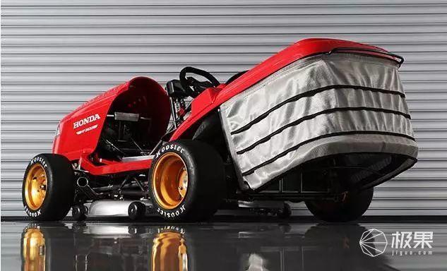 菜地狂飙!本田发布全球最快的……割草机?
