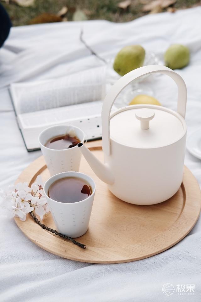 茶素材汀壶电水壶