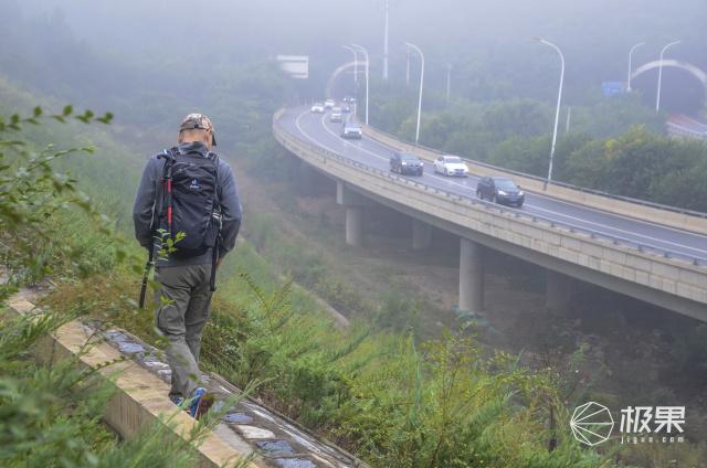 透气看得见,专业走户外:多特福特拉24升双肩背包