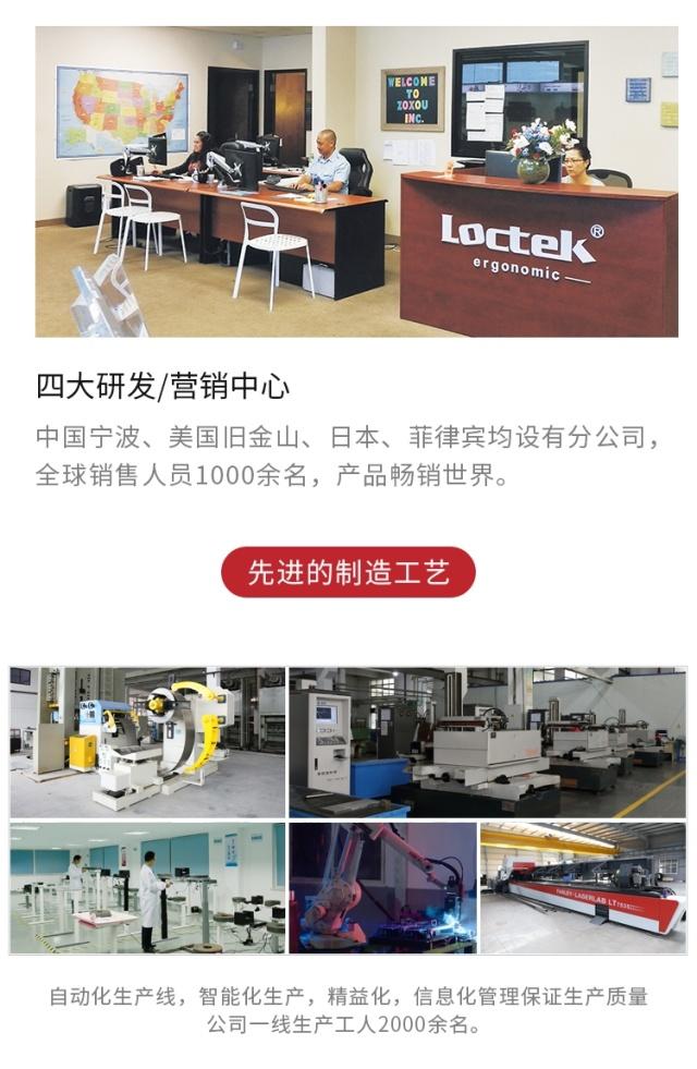樂歌(Loctek)EM6pro升降工作站